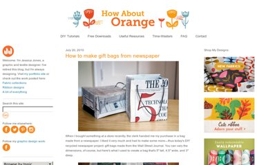 http://howaboutorange.blogspot.com/2010/07/how-to-make-gift-bags-from-newspaper.html