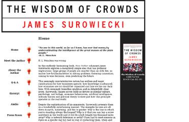 http://www.randomhouse.com/features/wisdomofcrowds/