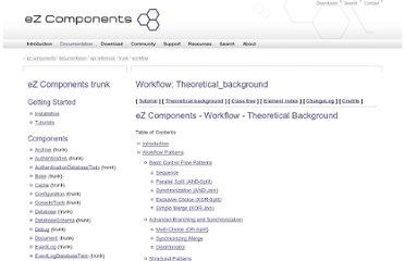 http://ezcomponents.org/docs/api/trunk/Workflow_theoretical_background.html#workflow-patterns