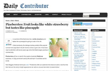 http://dailycontributor.com/pineberries-fruit-looks-like-white-strawberry-but-tastes-like-pineapple/13297/