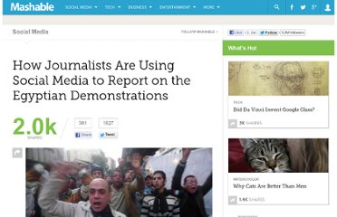 http://mashable.com/2011/01/31/journalists-social-media-egypt/