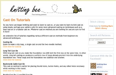 http://www.knitting-bee.com/knitting-tutorials/cast-on-tutorials