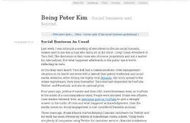 http://www.beingpeterkim.com/2011/01/social-business-as-usual.html
