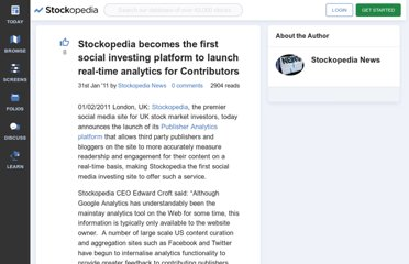 http://www.stockopedia.co.uk/content/stockopedia-becomes-the-first-social-investing-platform-to-launch-real-time-analytics-for-contributors-53240/
