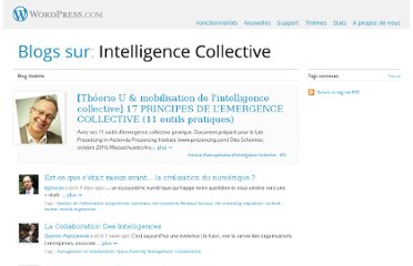 http://fr.wordpress.com/tag/intelligence-collective/