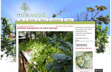 http://milkwood.net/2010/08/17/bathtub-aquaponics-in-alice-springs/