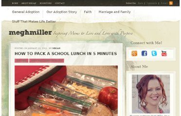 http://www.meghmiller.com/how-to-pack-a-school-lunch-in-5-minutes/