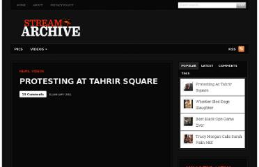 http://streamarchive.us/videos/protesting-at-tahrir-square/