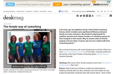 http://www.deskmag.com/en/the-female-way-of-coworking-173