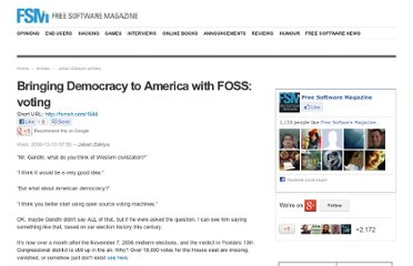 http://www.freesoftwaremagazine.com/blogs/bringing_democracy_to_america_with_foss_voting