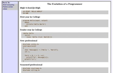 http://www.ariel.com.au/jokes/The_Evolution_of_a_Programmer.html