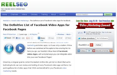 http://www.reelseo.com/facebook-video-apps/