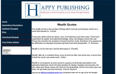 http://www.happypublishing.com/quotations/wealth_quotes.htm