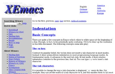 http://www.xemacs.org/Links/tutorials_1.html