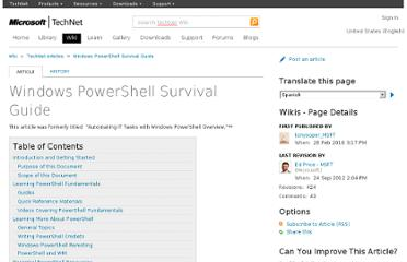 http://social.technet.microsoft.com/wiki/contents/articles/windows-powershell-survival-guide.aspx?wa=wsignin1.0