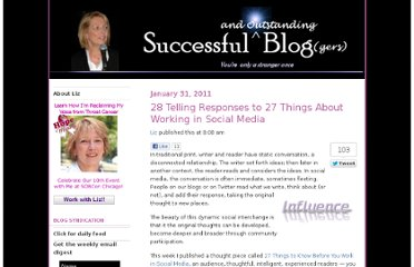 http://www.successful-blog.com/1/28-telling-responses-to-27-things-about-working-in-social-media/