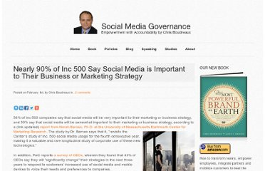 http://socialmediagovernance.com/blog/governance/nearly-90-of-inc-500-say-social-media-is-important-to-their-business-or-marketing-strategy/