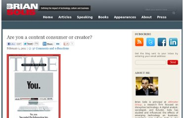 http://www.briansolis.com/2011/02/are-you-a-content-consumer-or-creator/
