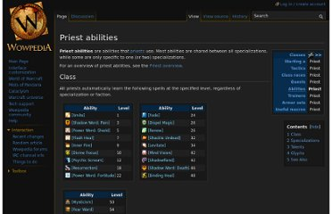 http://www.wowpedia.org/Priest_abilities
