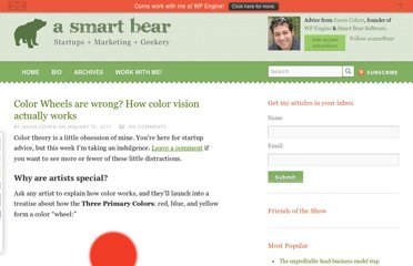 http://blog.asmartbear.com/color-wheels.html