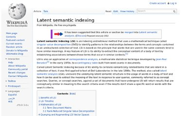 http://en.wikipedia.org/wiki/Latent_semantic_indexing