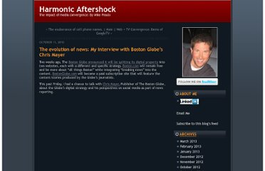 http://www.mikeproulx.com/harmonicaftershock/2010/10/the-evolution-of-news-my-interview-with-boston-globes-chris-mayer.html