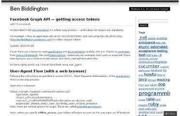 http://benbiddington.wordpress.com/2010/04/23/facebook-graph-api-getting-access-tokens/