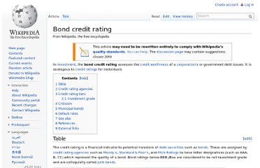 http://en.wikipedia.org/wiki/Bond_credit_rating