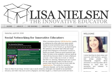 http://theinnovativeeducator.blogspot.com/2008/04/social-networking-for-innovative.html