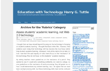 http://eduwithtechn.wordpress.com/category/rubrics/