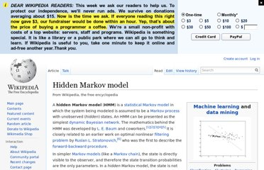 http://en.wikipedia.org/wiki/Hidden_Markov_model