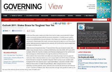http://www.governing.com/blogs/view/Outlook-2011-States-Brace-for-Toughest-Year-Yet.html