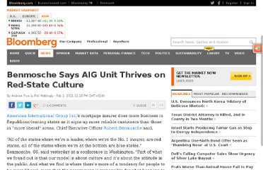 http://www.bloomberg.com/news/2011-02-02/benmosche-says-aig-mortgage-insurance-unit-thrives-on-red-state-culture.html