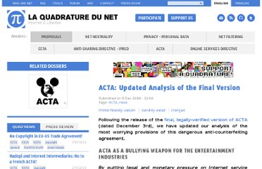 http://www.laquadrature.net/en/acta-updated-analysis-of-the-final-version