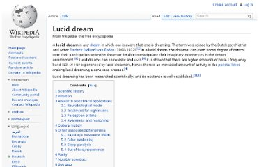 http://en.wikipedia.org/wiki/Lucid_dream