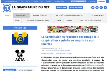 http://www.laquadrature.net/fr/la-commission-europeenne-encourage-la-cooperation-privee-au-mepris-de-nos-libertes