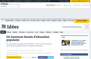 http://www.lemonde.fr/idees/article/2011/02/02/un-immense-besoin-d-education-populaire_1473891_3232.html