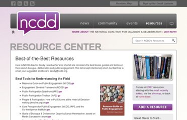 http://ncdd.org/rc/best-of-the-best-resources