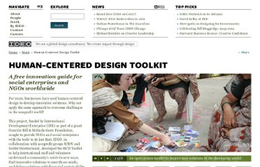 http://www.ideo.com/work/human-centered-design-toolkit
