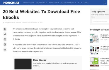 http://www.hongkiat.com/blog/20-best-websites-to-download-free-e-books/