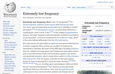 http://en.wikipedia.org/wiki/Extremely_low_frequency