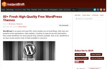 http://www.instantshift.com/2010/11/25/80-fresh-high-quality-free-wordpress-themes/