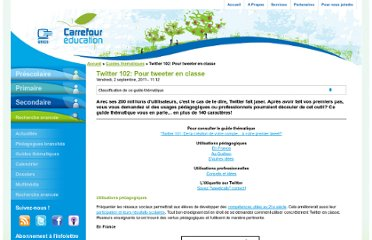 http://carrefour-education.qc.ca/guides_thematiques/twitter_102_pour_tweeter_en_classe#quebec