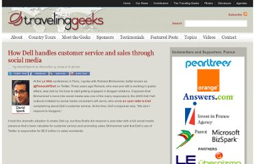 http://travelinggeeks.com/traveling-geeks/how-dell-handles-customer-service-and-sales-through-social-media/