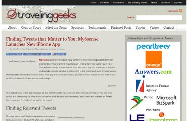 http://travelinggeeks.com/traveling-geeks/finding-tweets-that-matter-to-you-my6sense-launches-new-iphone-app/