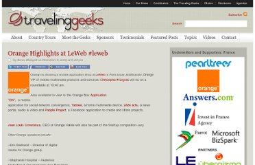 http://travelinggeeks.com/traveling-geeks/orange-highlights-at-leweb-leweb/