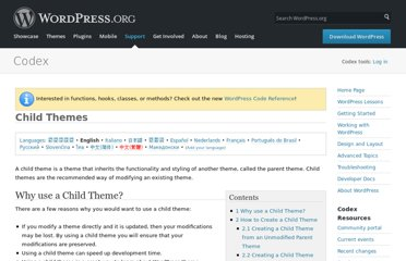 http://codex.wordpress.org/Child_Themes