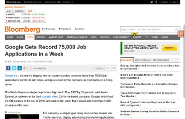 http://www.bloomberg.com/news/2011-02-03/google-gets-75-000-job-applications-in-one-week-topping-record-set-in-07.html