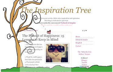 http://www.theinspirationtree.com/2011/01/pursuit-of-happiness-15-lessons-to-keep.html