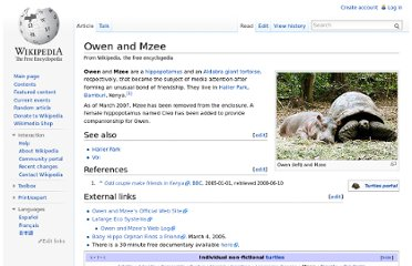 http://en.wikipedia.org/wiki/Owen_and_Mzee